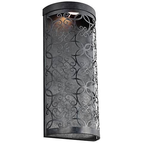 """Feiss Arramore 17 1/2"""" High Zinc LED Outdoor Wall Light"""