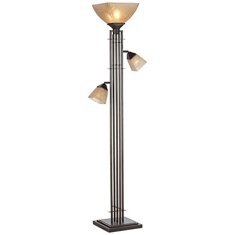 dimond floor lamps lamps plus. Black Bedroom Furniture Sets. Home Design Ideas
