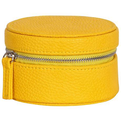 Mele & Co. Joy Sunflower Faux Leather Travel Jewelry Case