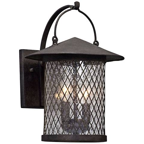 "Altamont 14"" High French Iron Outdoor Wall Light"