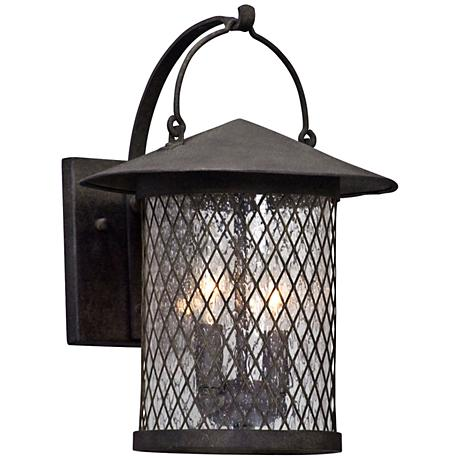 """Altamont 14"""" High French Iron Outdoor Wall Light"""