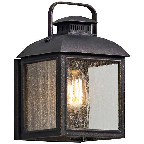 "Chamberlain 12 1/4"" High Vintage Bronze Outdoor Wall Light"
