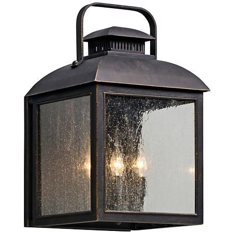 """Chamberlain 21 1/2"""" High Vintage Bronze Outdoor Wall Light"""