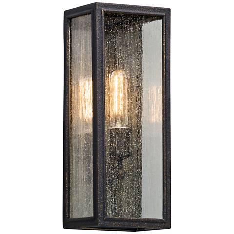 "Dixon 16 3/4"" High Vintage Bronze Outdoor Wall Light"
