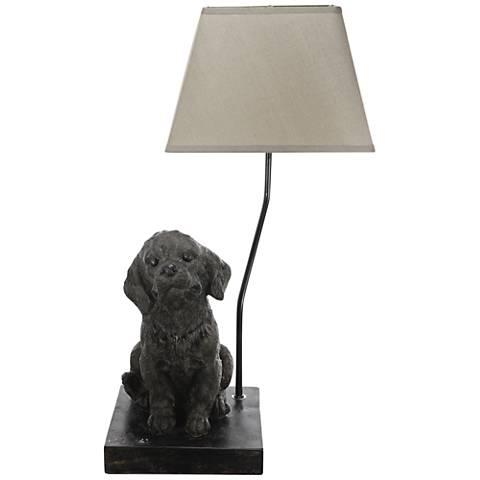Adairville Golden Retriever Table Lamp