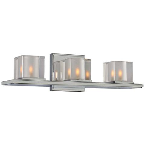"Naples 19 1/2"" Wide Chrome 3-Light Bath Light"