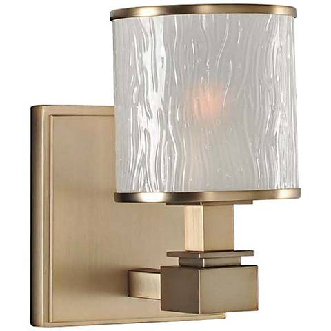 "Destin 5"" Wide Brushed Bronze 1-Light Wall Sconce"