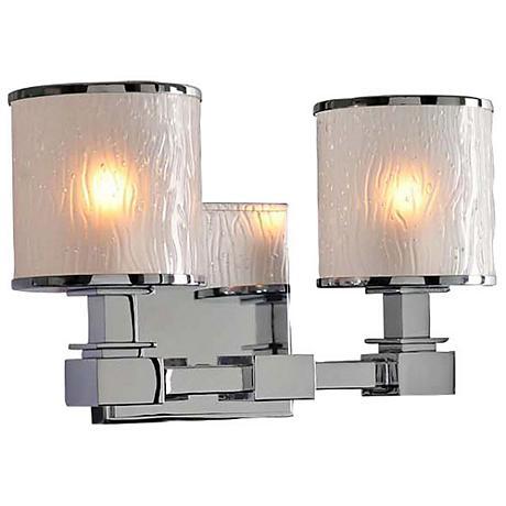 Destin 11 1 2 Wide Chrome 2 Light Bath Light 1w270 Lamps Plus