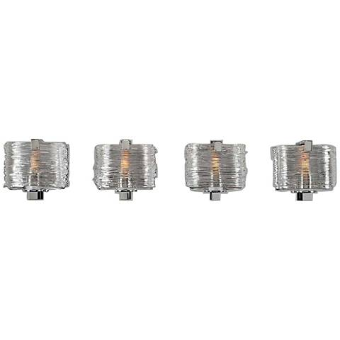"South Bay 26"" Wide Chrome 4-Light Bath Light"