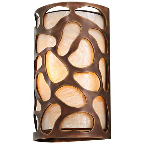 """Gramercy 11"""" High Copper Patina 1-Light Wall Sconce"""