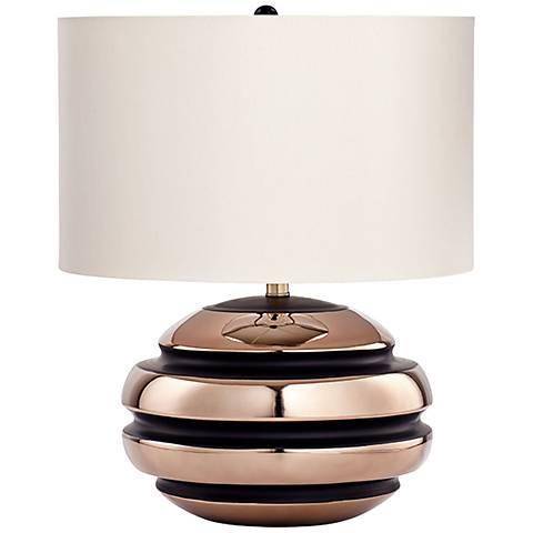 Patrice Bronze Glaze Ceramic Table Lamp