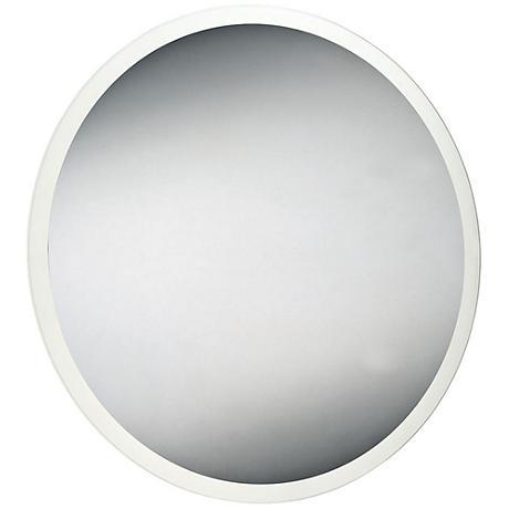 """Eurofase Edge-Lit 31 1/2"""" Round LED Wall Mirror"""