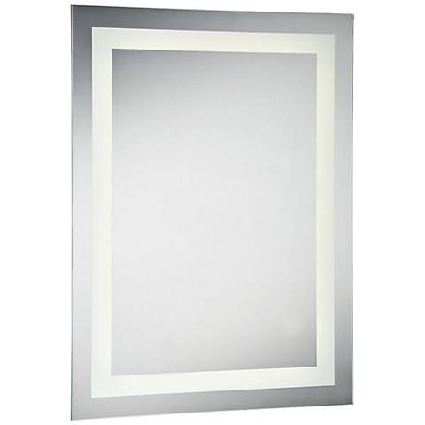 "Eurofase Front-Lit 23 1/2"" x 31 1/2"" Small LED Wall Mirror"