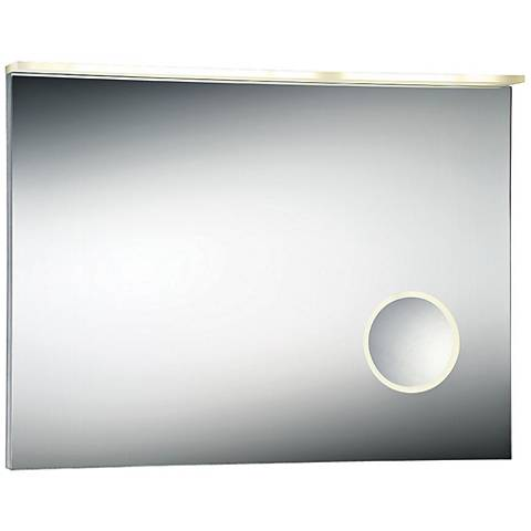 "Eurofase Magnifier 31 1/2"" x 23 1/2"" Small LED Wall Mirror"