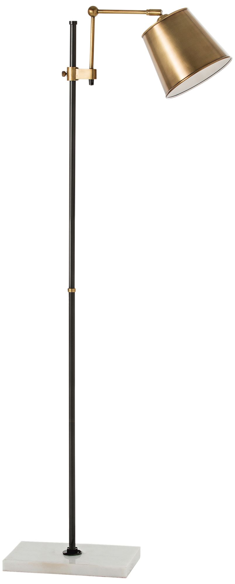 Arteriors Home Watson Bronze Steel Adjustable Floor Lamp