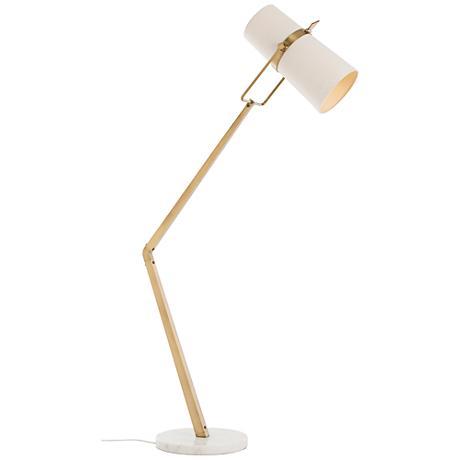 Arteriors Home Juniper Angled Brass Adjustable Floor Lamp