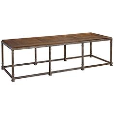 Remix Bannister Rectangular Cocktail Table