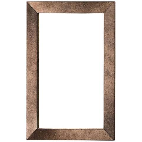 "Regina Beige 24"" x 36"" Rectangular Wall Mirror"
