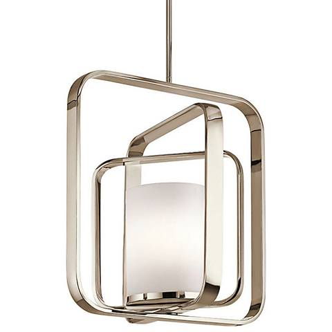 "Kichler City Loft 20 1/2""W Polished Nickel Pendant Light"