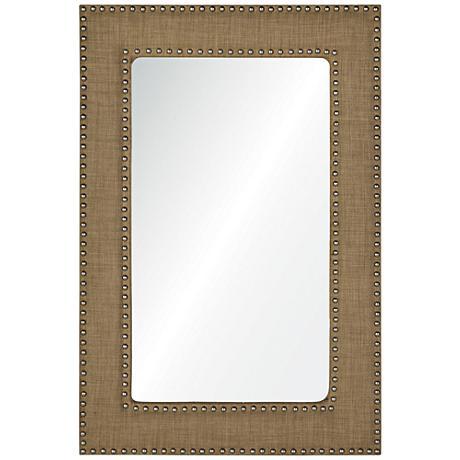 """Ramsey Linen 24"""" x 36"""" Rectangular Wall Mirror"""