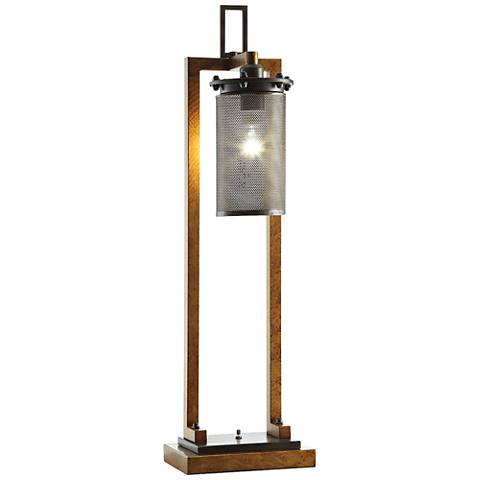 Crestview Collection Gibson Copper and Iron Table Lamp