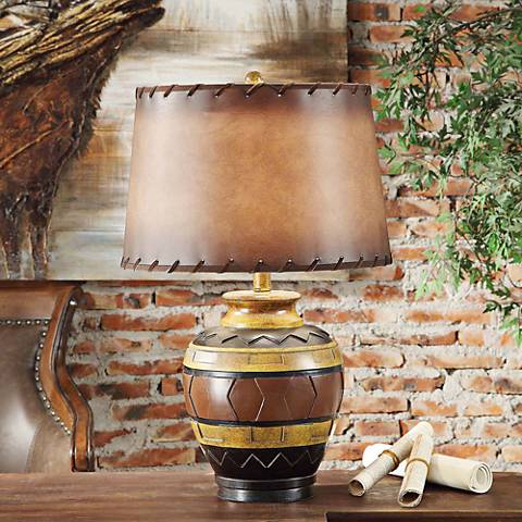 Crestview Collection Dakota Pottery Table Lamp