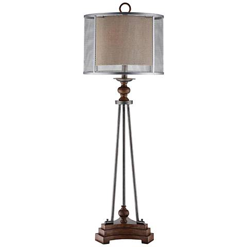 Ambience Lineage Collection Iron Base Table Lamp 34402 Lamps Plus