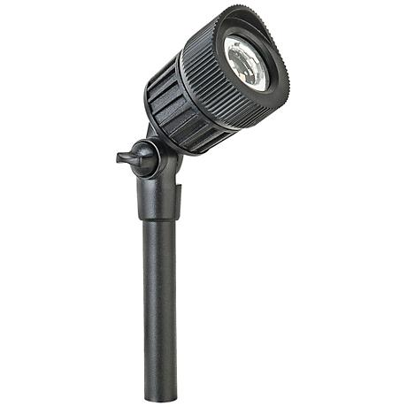 "Gregory 8""H Black Aluminum Low Voltage LED Micro Spot Light"