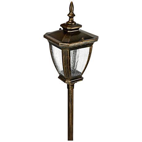 "Marquis 20"" High Bronze Low Voltage Path Light"