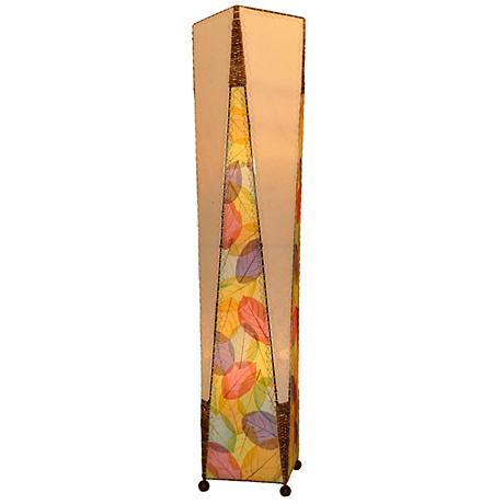 Eangee Trapezoid Multicolor Hand-Made Large Floor Lamp