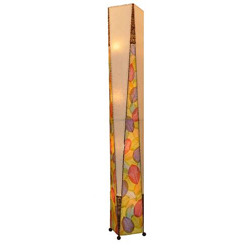 Eangee Trapezoid Multicolor Hand-Made Giant Floor Lamp