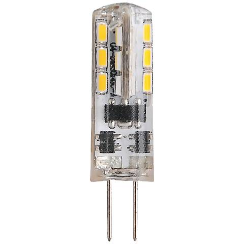 20W Equivalent Clear 1.5W LED Dimmable G4 Bi-Pin Bulb