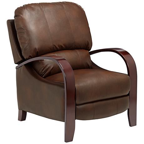 Cooper Frontier Java Bonded Leather 3-Way Recliner Chair