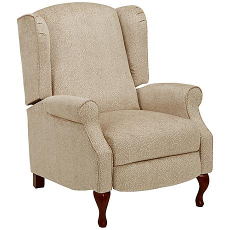 Davison Pebble Fabric 3-Way Recliner Chair