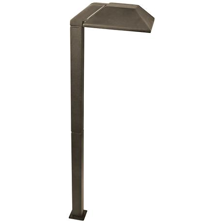 """Mimi 20 3/4"""" High Aged Brass Low Voltage LED Path Light"""
