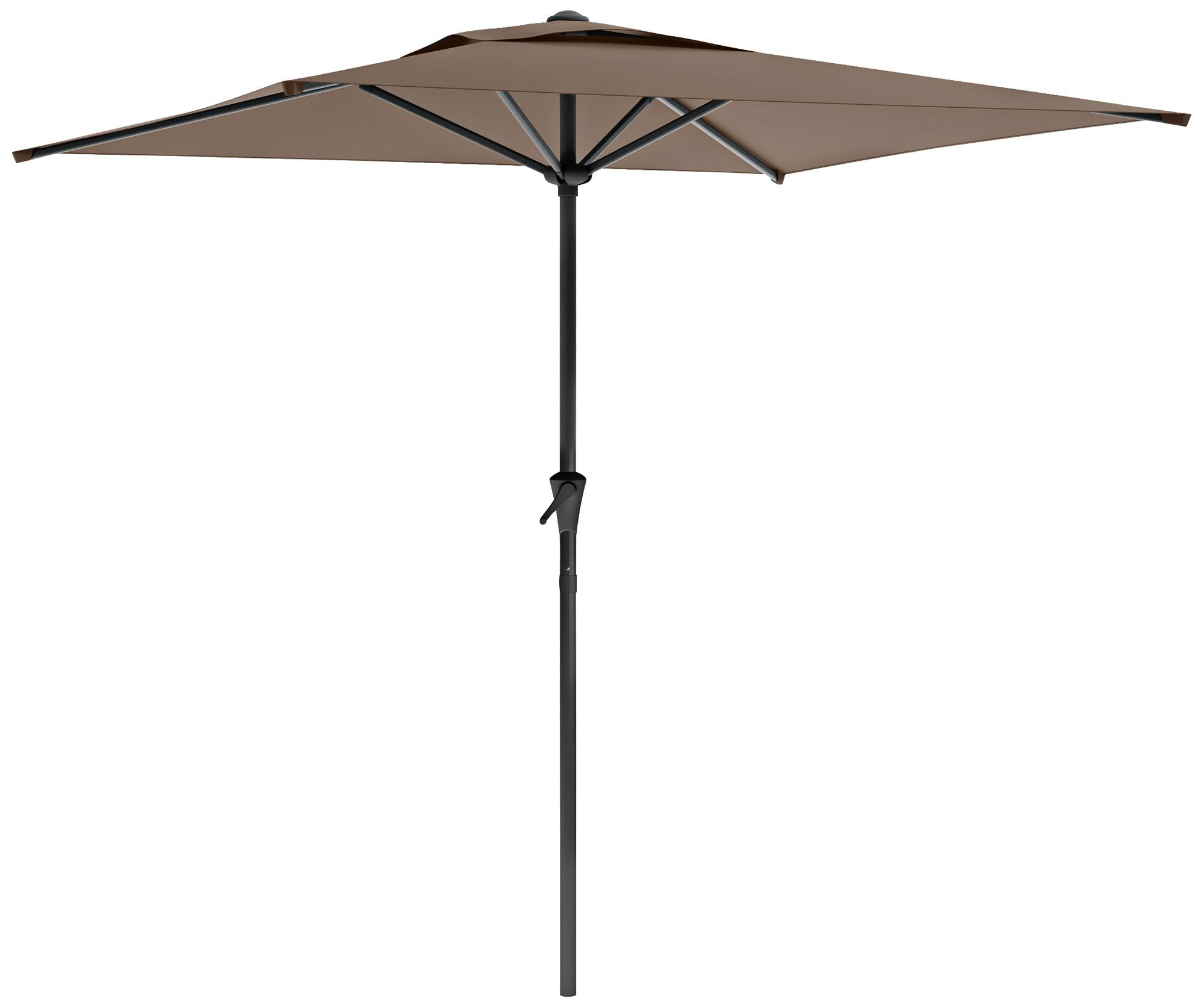Shala 9 Foot Sandy Brown Tilting Square Patio Umbrella