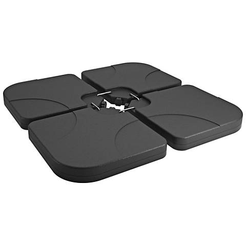 Odyssey 18 Lb. Dark Gray Patio Umbrella Base Weights