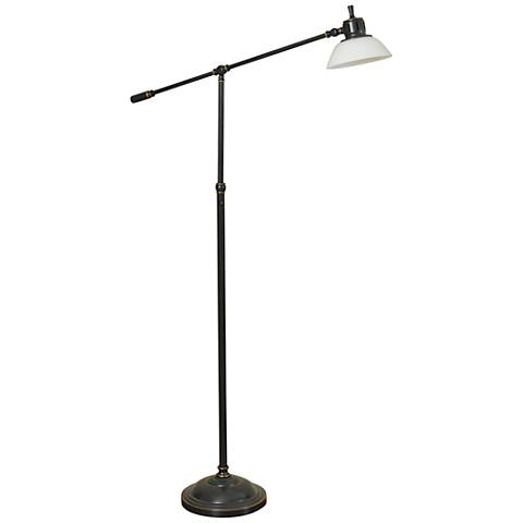 Skyline Russet Bronze LED Task Floor Lamp