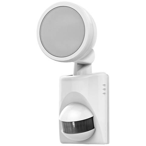 """MoSense White 9""""H Battery-Power Outdoor LED Motion Light"""