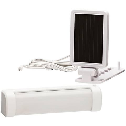140 Lumen LED White Solar Security Light