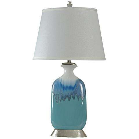 Hovendale Beach Grove Jar Table Lamp