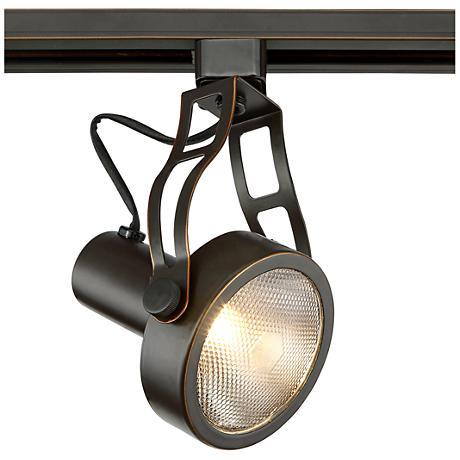Pro Track Bronze Spotlight PAR30 LED Halo Track Head 1X364 Lamps Plus