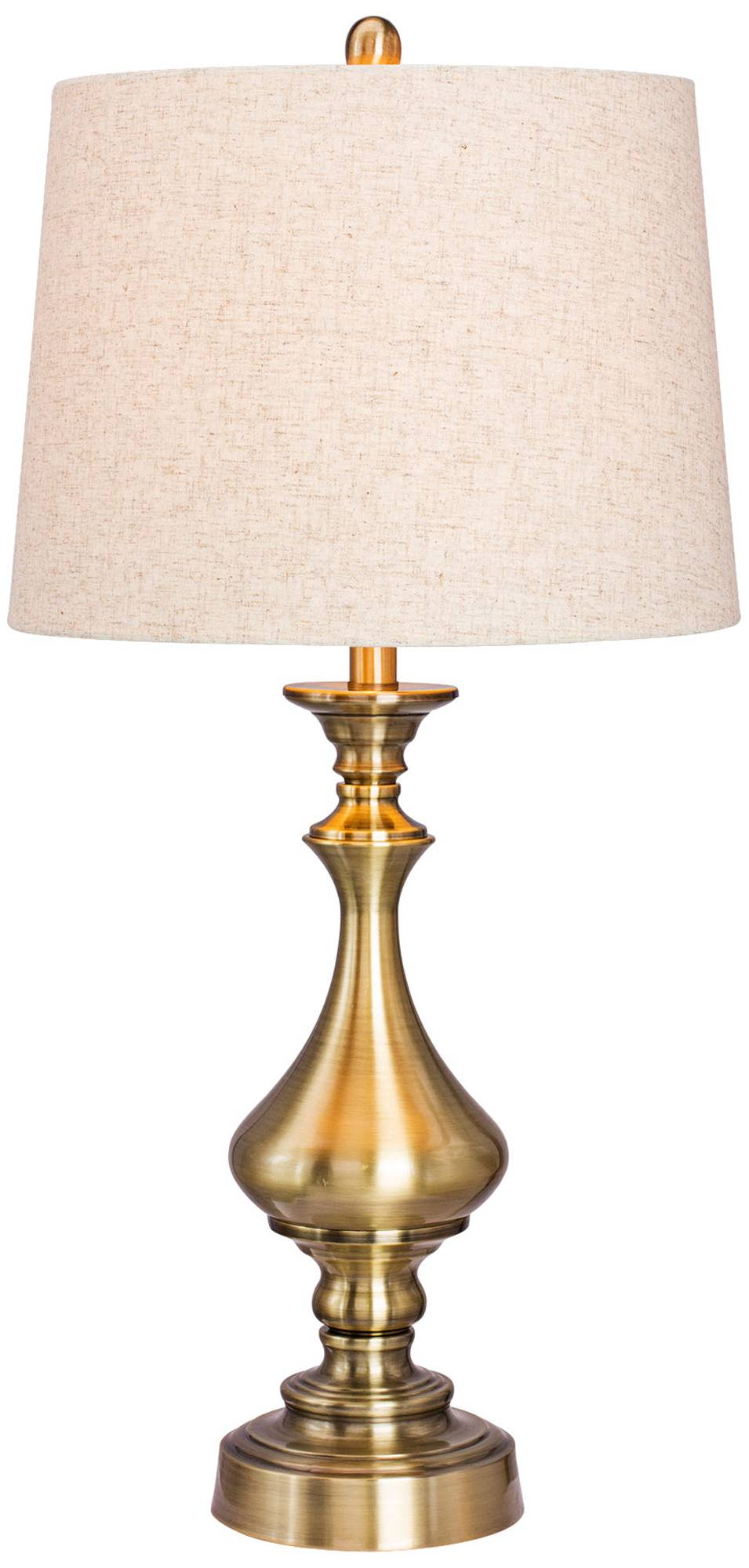 Rainbow Desert Southwest Candlestick Table Lamp 3n810