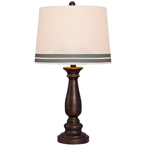Harlowton Oil Rubbed Bronze Metal Table Lamp