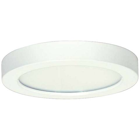 "Blink White 5 1/2"" Wide Round LED Ceiling Light"