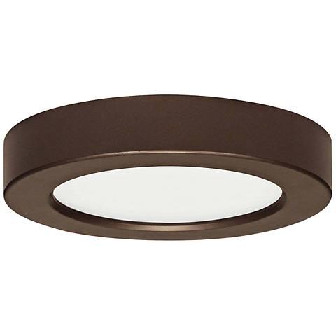 "Blink Bronze 5 1/2"" Wide Round LED Ceiling Light"
