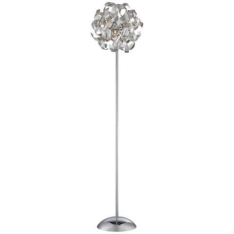 Quoizel Ribbons Millenia Metal Floor Lamp