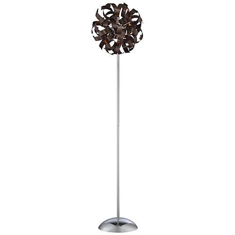 Quoizel Ribbons Western Bronze Floor Lamp