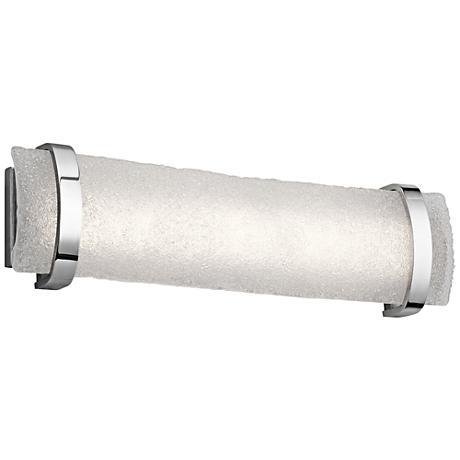 "Elan Adara Chrome 25 1/4"" Wide LED Bath Light"