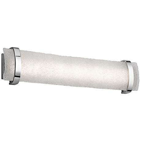 "Elan Adara Chrome 31"" Wide LED Bath Light"